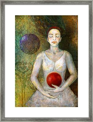 Dreaming Framed Print by Katherine DuBose Fuerst