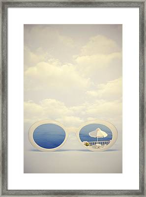 Dreaming Of Holidays Framed Print by Joana Kruse