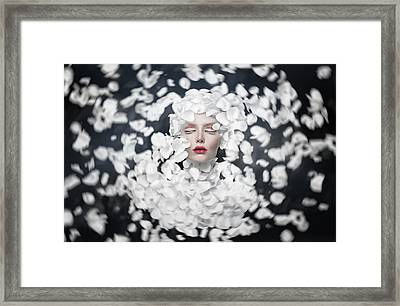 Dreaming Of Spring Framed Print by Hosein Shirvani