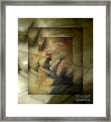 Dreaming Of What Could Be Isn't Meant To Be Framed Print by Fania Simon
