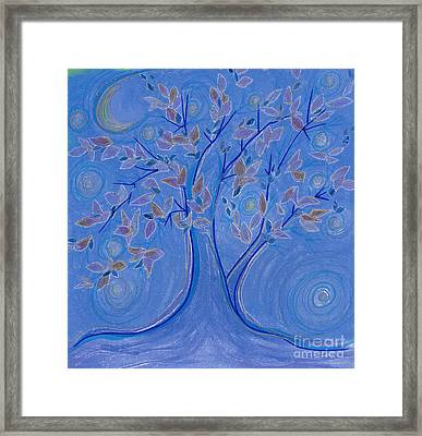 Dreaming Tree By Jrr Framed Print by First Star Art