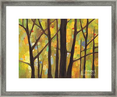 Dreaming Trees 1 Framed Print by Hailey E Herrera