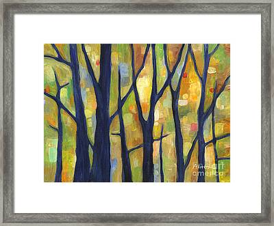 Dreaming Trees 2 Framed Print by Hailey E Herrera