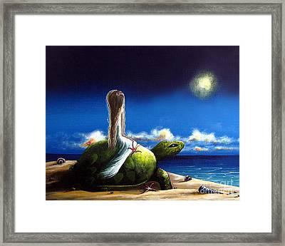 Dreams Before I Awake By Shawna Erback Framed Print by Shawna Erback