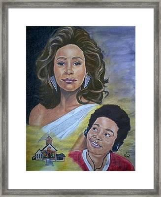 Dreams Do Come True Whitney Framed Print by Arron Kirkwood