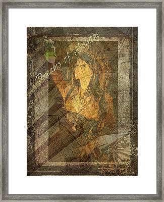 Dreams Of Absinthe - Steampunk Framed Print by Absinthe Art By Michelle LeAnn Scott