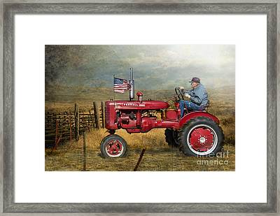 Dreams Of Yesteryear Framed Print by Betty LaRue