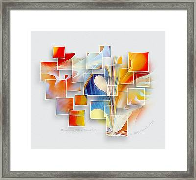 Dreams That Find Me Framed Print by Gayle Odsather