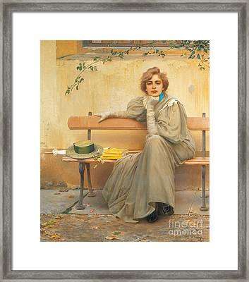 Dreams  Framed Print by Vittorio Matteo Corcos