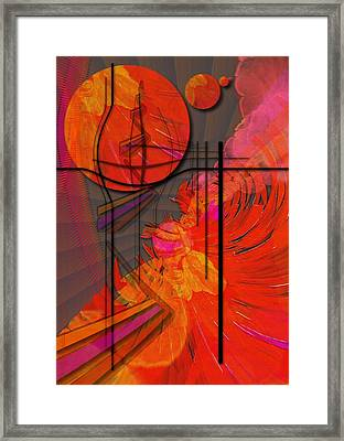Dreamscape 06 - Tangerine Dream Framed Print by Mimulux patricia no