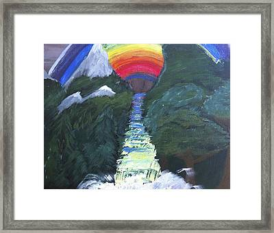 Dreamscape Framed Print by Rob Spencer