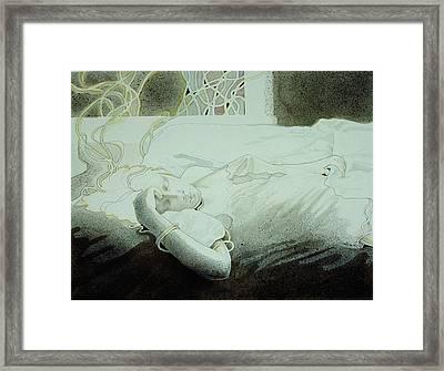 Dreamweaving Framed Print by Susan Helen Strok