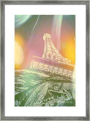 Dreamy Romance Framed Print by Az Jackson