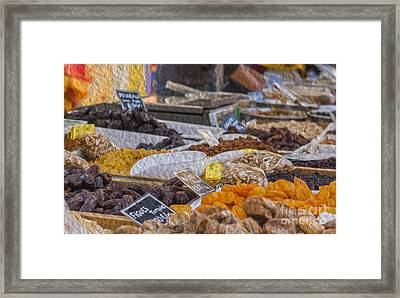 Dried Fruits Framed Print by Patricia Hofmeester
