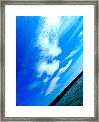 Drift Away Framed Print by Tyler Murphy