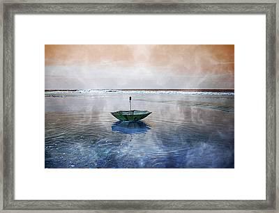 Drifter Framed Print by Betsy Knapp