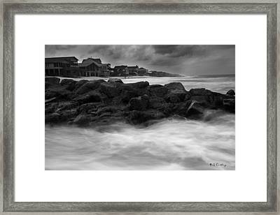Drifting Through Framed Print by Bill Cantey