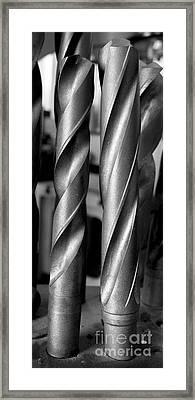 Drills Framed Print by Steven Ralser