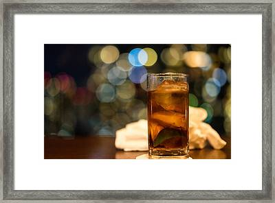 Drink Framed Print by Christoffer Karlsson