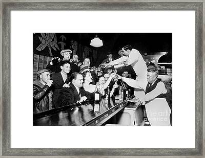 Drink Up Framed Print by Jon Neidert