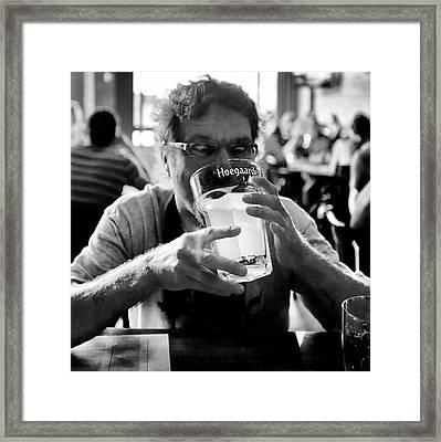 Drink Up Framed Print by Trever Miller