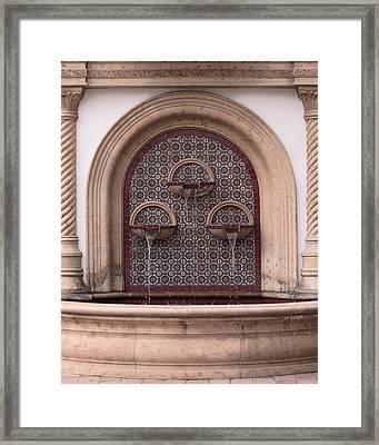 Dripping Same Pitch Framed Print by Viktor Savchenko