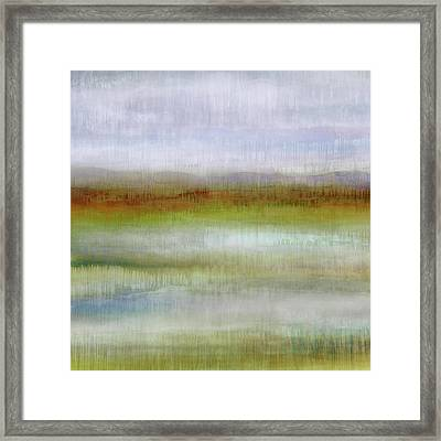 Dripscape 9 - 4 Framed Print by Cora Niele