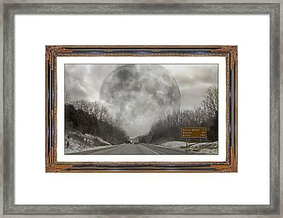 Drive  Framed Print by Betsy C Knapp