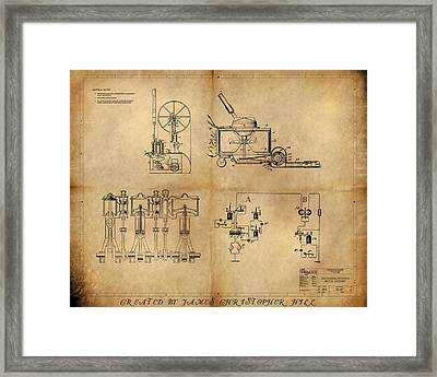Drive System Assemblies Framed Print by James Christopher Hill