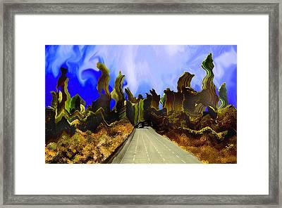 Drive Thru 1 Framed Print by Bruce Iorio