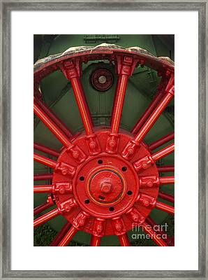 Drive Wheel Framed Print by Paul W Faust -  Impressions of Light