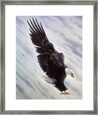Dropping In Framed Print by Gregory Perillo