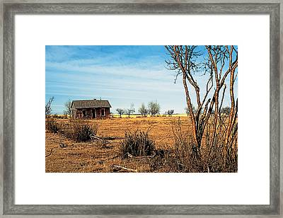Drought 2 Framed Print by Terry Reynoldson