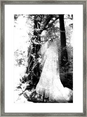 Druid Bride Framed Print by Kath MoonArts
