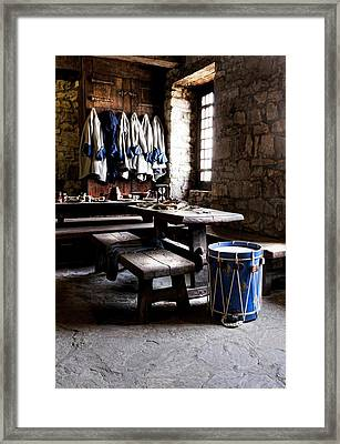 Drum Corps 2 Framed Print by Peter Chilelli
