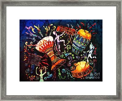 Drumbeat Framed Print by Sue Duda