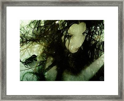 Dryad Framed Print by Gun Legler