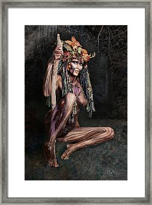 Dryad IIi Framed Print by David April