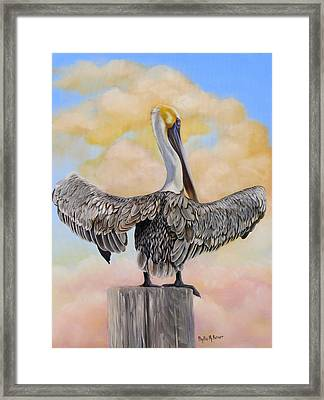 Drying Out With Color Framed Print by Phyllis Beiser
