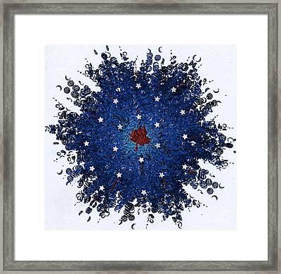 Dual Citizenship 1 Framed Print by First Star Art