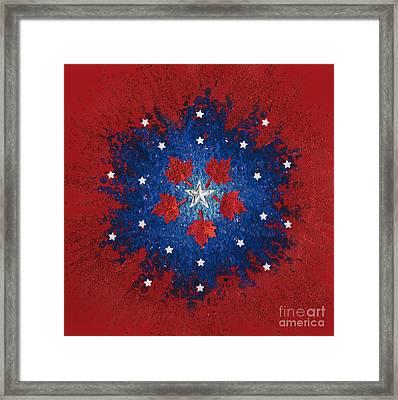 Dual Citizenship 2 Framed Print by First Star Art