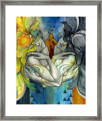 Duality Framed Print by Patricia Ariel