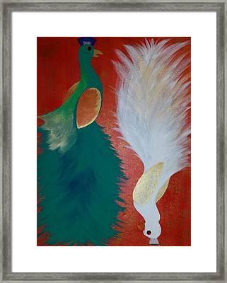 Duality Framed Print by Shantel Walz