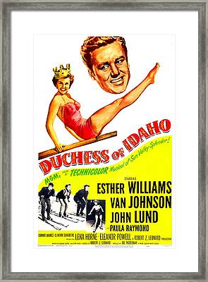 Duchess Of Idaho, Us Poster, Top Framed Print by Everett