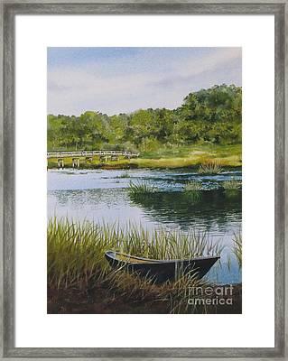 Duck Creek Framed Print by Karol Wyckoff