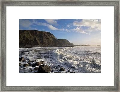 Duck Pool In North Cornwall Framed Print by Pete Hemington