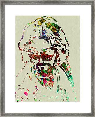 Dude Framed Print by Naxart Studio