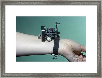 Dudgeon Sphygmograph, Circa 1880s Framed Print by Science Photo Library