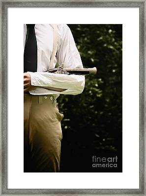 Duel Framed Print by Margie Hurwich