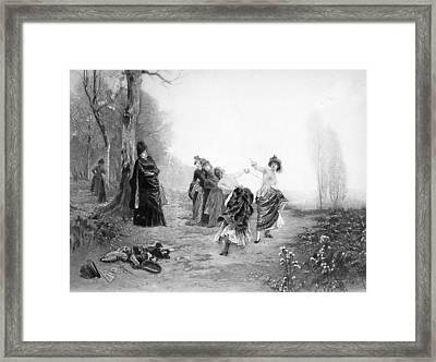 Dueling, 19th Century Framed Print by Granger